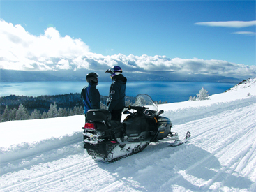 Zephyr Cove Snowmobile Rentals